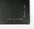 Script Silver Right Angle Albums
